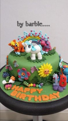 My Little Pony Cake by ...Cake it with Barbara <3