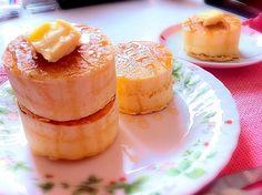 ♡朝食パンケーキ♡