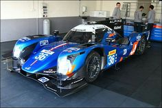 Alpine A460 ..With the best LMP2 lap time on the Test Day, the #35 Alpine beat the pole time of the Audi R10 in 2006