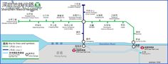awesome SHENZHEN SUBWAY MAP ENGLISH