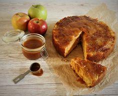Rustikk Mat: Oppned eplekake med karamell Camembert Cheese, Dairy, Food, Eten, Meals, Diet