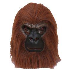 Máscara de Gorila #mascaras #antifaces #carnaval