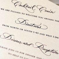 Invitation and Envelope Wording