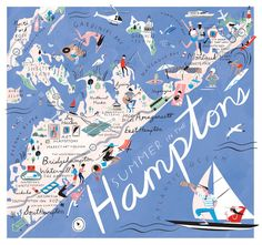 Where to eat, party, work out and shop on the East End this summer.  The Hamptons