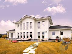 stadtvilla celle - #einfamilienhaus von haacke haus gmbh + co. kg ... - Stadtvilla Fertighaus