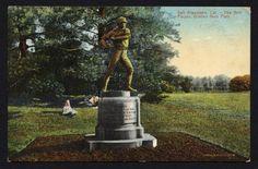 Tilden Base Ball Statue SF