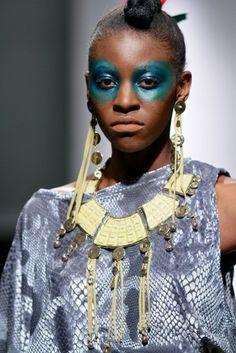 #ndaucollection Look 10 Zimbabwe Fashion Week 2013 Photography / SDR Photo