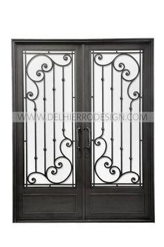 Puerta de entrada (de Del Hierro Design)