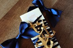 Anchor Garland - ships in 1-3 business days - Nautical Party Decorations.