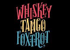 Whiskey Tango Foxtrot - Threadless.com - Best t-shirts in the world