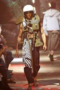 John Galliano Spring 2008 Menswear