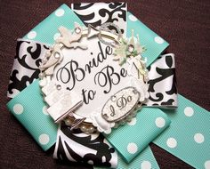 bride to be badge - breakfast at tiffany's on Etsy, $22.00