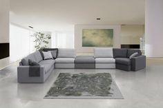 Elementen bank en hoekbank Paradiso is een een lounge leefhoek leverbaar in elke afmeting!