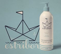 Packaging baby cosmetics Estribor on Behance