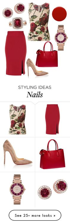 """Eva"" by office-girl on Polyvore featuring мода, Alice + Olivia…"
