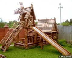 оригинальная детская площадка