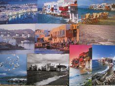 10 Postcards of Mykonos Greece. $10.00
