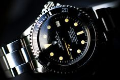 rolex sea dweller 1665 nice patina on this baby