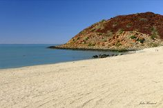 Hearsons Cove, Karratha, Pilbara Western Australia. Regular swimming spot for Karratha residents. Safe swimming but make sure you check the tide is in!