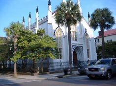 French Huguenot Church | 136 Church St., At the corner of Church and Queen sts., Charleston, SC (Downtown)