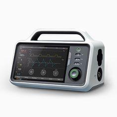 Entwurfreichs Work / Medical Ventilation / Medical Design / Interface UI / Interaction Design / RESCUE / White / Air / at Entwufreich