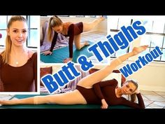 10 Minute Legs & Butt Workout - Beautiful Ballet Flexibility & Cardio Exercises For Women at Home