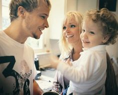 "Brian Littrell, Leighanne Littrell & Baylee Littrell ""Very cute this photo"" :)"