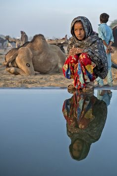 Pushkar, India By Yaman Ibrahim via Resource Travel's Top 10 Travel Photos of the Week - We Are The World, People Of The World, Wonders Of The World, Namaste, India For Kids, Bactrian Camel, Mother India, India Tour, Portraits