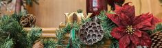 Beckon in the joy and cheer of the holiday season with our rustic and homey Christmas decorations . Adorn your tree and home with our burlap decorations, jut...