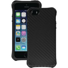 Travel Perks - Ballistic iPhone 5 And 5s Urbanite Case (black carbon fiber and black), $34.99 (http://www.shoptravelperks.com/ballistic-iphone-5-and-5s-urbanite-case-black-carbon-fiber-and-black/)