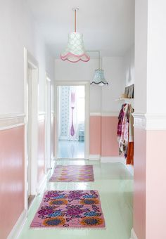 Art Symphony: Happy Living in a Colorful Danish House Interior Pastel, Danish Interior, Interior Design Inspiration, Room Inspiration, Interior Design Living Room, Living Room Decor, Deco Pastel, Danish House, Inside A House