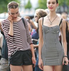 """vogueably: """"hey babe."""" MORE FASHION AND STREET STYLE"""