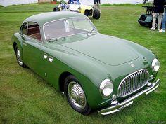 1950 Cisitalia 202 Stabilimenti Farina Coupe by kitchener.lord, via Flickr