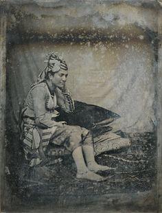Anonymous Photographer Juive d'Alger. Half Plate Daguerreotype, 1844