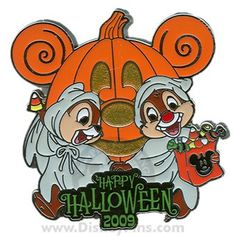 disney halloween collector's pin