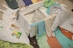 Traditional Finnish Baby Box comes jam-packed with stylish and functional Scandinavian design baby clothes and other necessities