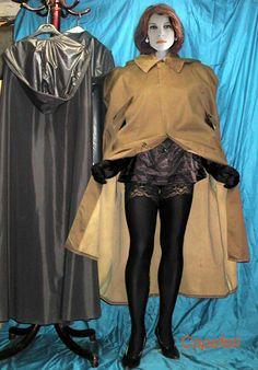 Capes, Rain Cape, Rubber Raincoats, Pvc Raincoat, Love To Meet, Raincoats For Women, Latex Fashion, Rain Wear, Leather Gloves