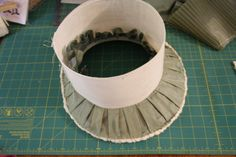 The making of a Regency hat