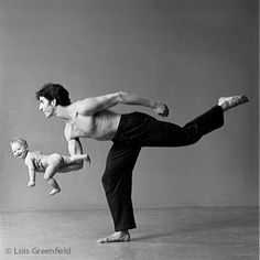 Dude. Baby. Lois Greenfield photography.