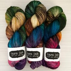 "377 Likes, 19 Comments - Y A R N I N K (@yarnink) on Instagram: ""Just added a few colorways to the shop probably for the last time this year, I am always so shocked…"""