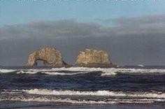 Twin Rocks just south of Rockaway Beach, our favorite little beachtown in Oregon.