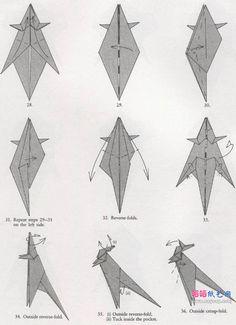 origami kangaroo 5 origami animaux pinterest origami