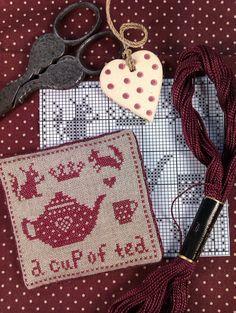 Kijkje in Laura's Ateliertje: A little cup of Tea