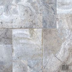Patterns-Silver Travertine  We work with MSI to bring in some of the most beautiful travertine materials.  Call Colorado Tile & Stone/Stone Concepts for more info 970-328-3800
