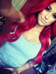 I had my hair like this once but it didn't look as good and I hated it. But now I want it done again