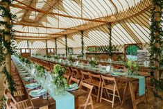 With many ways of dressing the Palace Yurt the choice is yours, round or trestle tables whats your favorite?