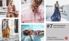 """Der Juli steht ganz im Zeichen der Mode – ob Fashion Week oder modisches Statement auf dem Festival: Es darf gern etwas ausgefallener sein. Im Sommer sprühen wir nur so vor positiver Energie und wollen diese natürlich auch modisch zeigen. Aus diesem Grund dreht sich bei der Idea Journey in diesem Monat alles um das Thema """"Play with fashion"""". Inspirationen und Kreationen kommen im Juli von Karin von Constantly K, die vor rund eineinhalb Jahren gemeinsam mit ihrem Team ein Online-Magazin…"""