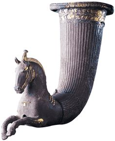 Rhyton with a Horse             Black Sea coastal region     4th century B.C.