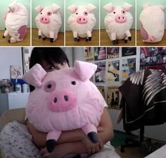 Waddles pillow!!! am i the only person who really want's this!