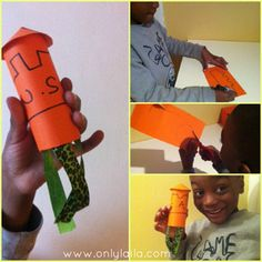 Easy 3-step rocket craft for kids - Trucks and Bubbles | ChicagoParent.com Or Castle tower!